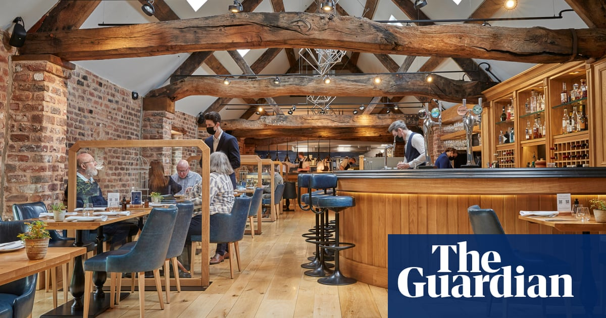 The Barn at Moor Hall, Aughton, Lancashire: 'Delicious eccentricity' – restaurant review