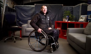Re. Disability and dating feature. - Andy Trollope from Salisbury who is paraplegicPics - Adrian Sherratt - 07976 237651 Re. Disability and dating feature. - Andy Trollope from Salisbury who is paraplegic (10 Feb 2016).
