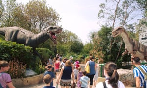 Gulliver's Valley dinosaurs