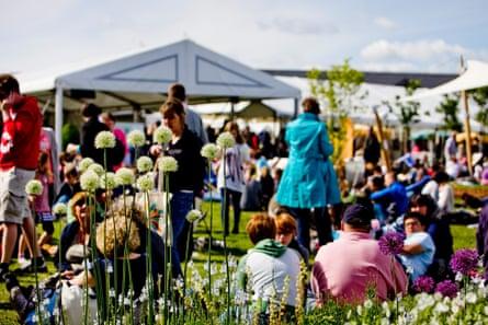 The Hay literary festival