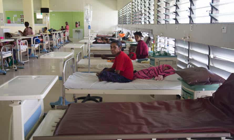 Port Moresby general hospital's boss said the rise in Covid cases will see patient numbers rise 'beyond our capacity'.