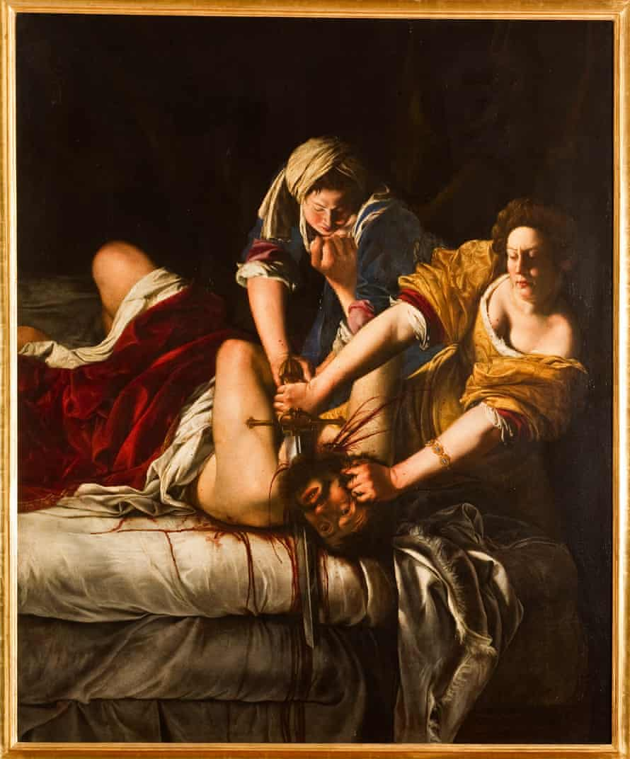 'An imponderable act made unflinchingly palpable': Judith beheading Holofernes