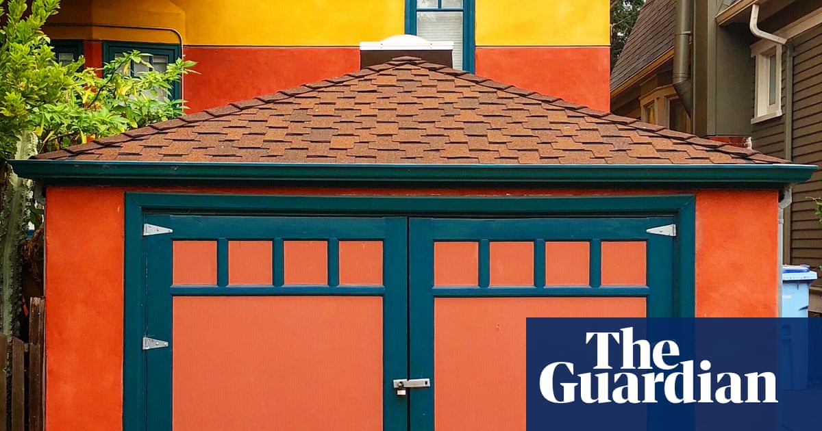 The arty garages of Berkeley, California – in pictures | Art and design | The Guardian