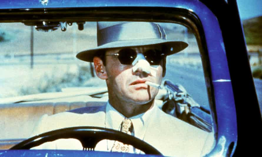 'If the director comes up dirty, so do we' … Jack Nicholson in director Roman Polanski's Chinatown (1974).