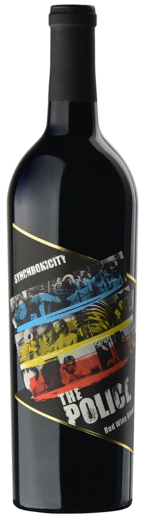 The Police Synchronicity Wine
