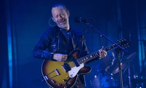 Thom Yorke of Radiohead performs in Barcelona. 'Our hearts go out to those attacked tonight at Velvet IndieGround in Istanbul,' the band said.