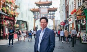 Chu Ting Tang , chairman of London Chinatown Association.