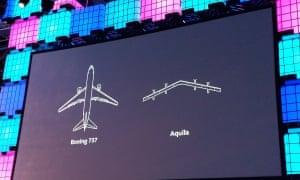 Facebook's Aquila drone