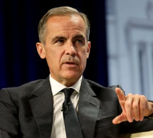Governor of the Bank of England Mark Carney.