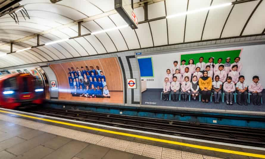 Images from Steve McQueen's Year 3 project at Pimlico underground station. The installation is currently at Tate Britain.
