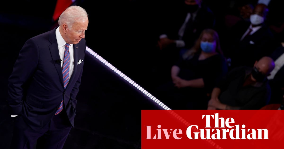 Biden says talks on sweeping reconciliation bill down to 'four or five issues' – live