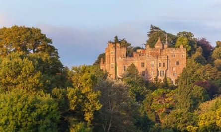 Dunster Castle, Somerset, England, United Kingdom.