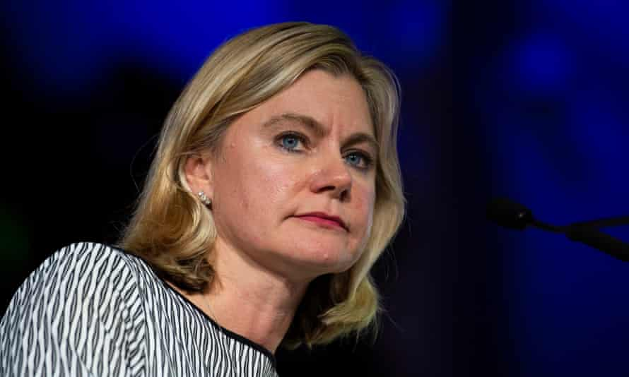 Justine Greening says she would consider throwing her hat in the ring for Tory leadership.