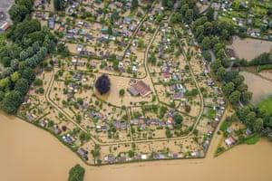 The Ruhr floods in Schwerte