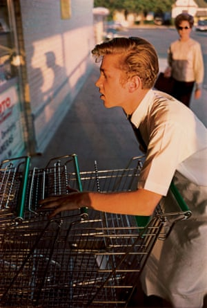 'By God, it all worked' … Eggleston on this picture his first successful colour print. Untitled, 1965.