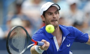 Andy Murray started slowly and struggled with his first serve against Richard Gasquet.