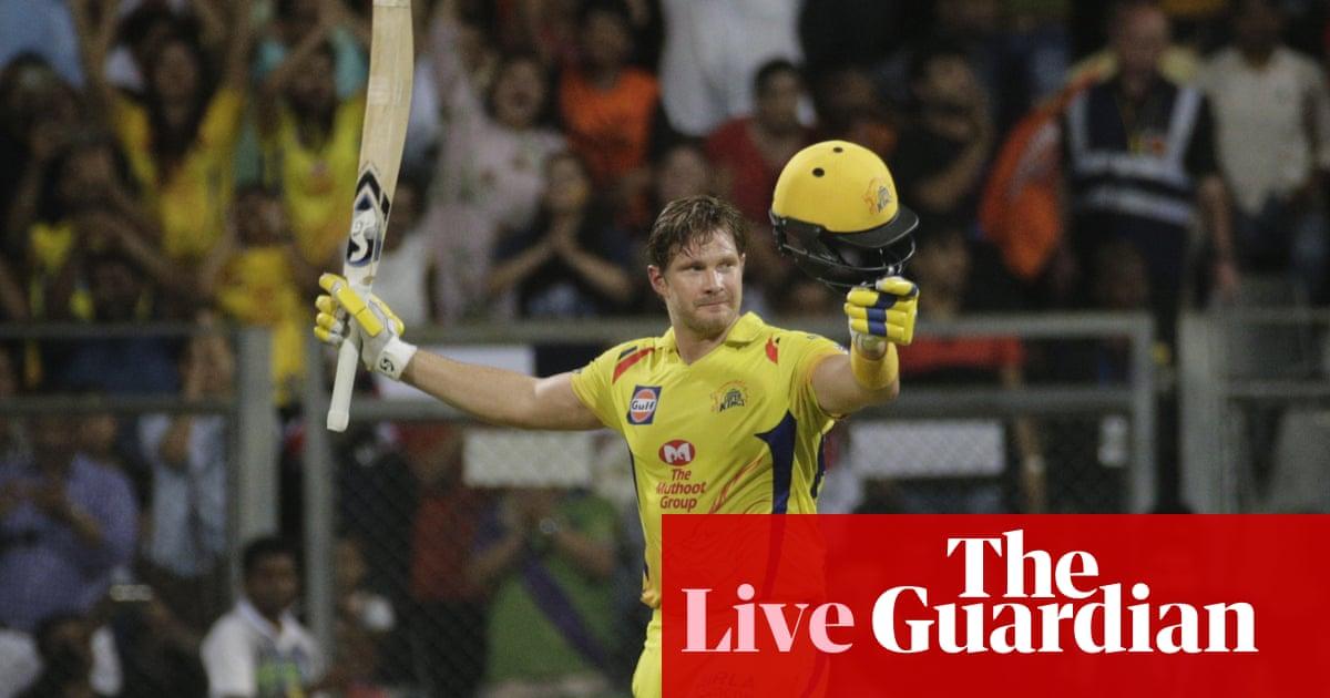 Chennai Super Kings beat Sunrisers Hyderabad to win the IPL