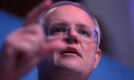 The treasurer Scott Morrison: