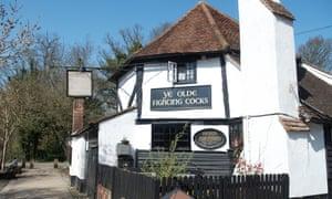 England's oldest pub, Ye Olde Fighting Cocks in St Albans, Hertfordshire.
