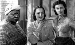 Hattie McDaniel, Olivia de Havilland and Vivien Leigh in Gone With the Wind