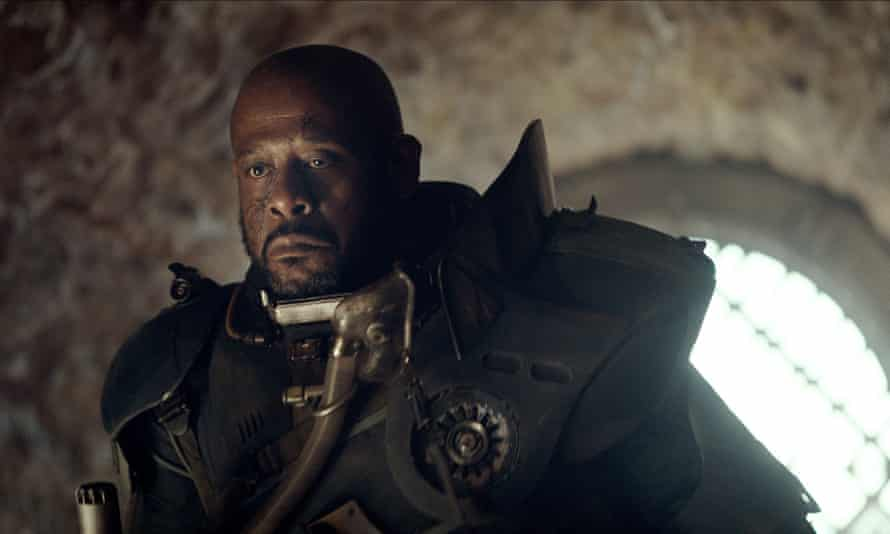 Forest Whitaker in Rogue One.