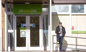 A Job Centre in Cambridge, Britain.