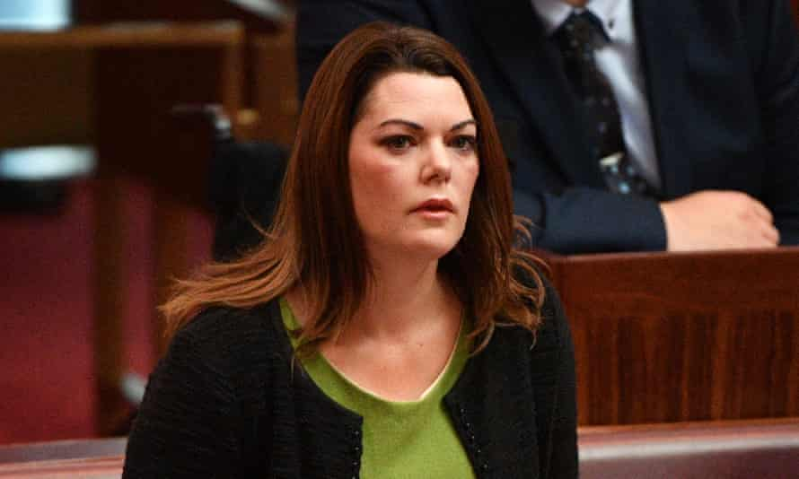 Greens senator Sarah Hanson-Young said she faced a number of threats after she publicly condemned David Leyonhjelm for comments he made about her in June.