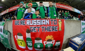 Northern Ireland fans are feeling confident.