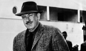 Surviving on little things … John Steinbeck in 1957.