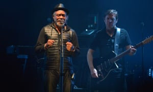 Horace Andy at the O2 with Massive Attack.