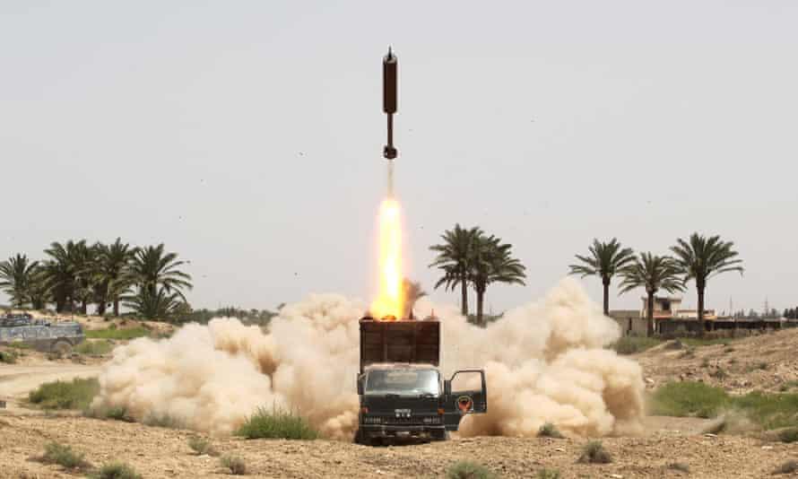 Iraqi forces began an operation to retake Falluja two weeks ago.