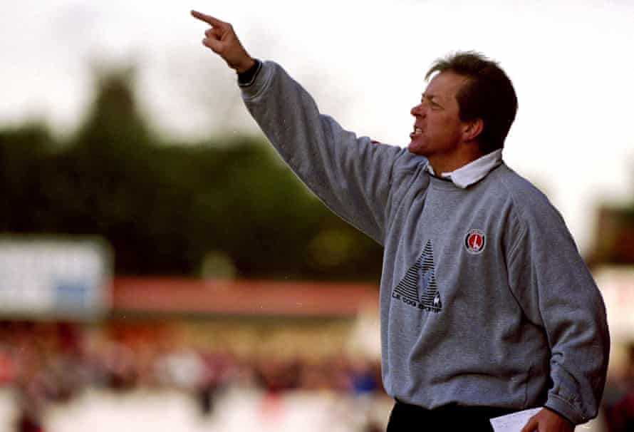 Alan Curbishley in charge of Charlton in 2001.