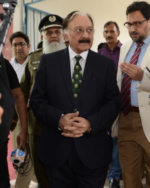 Chief election commissioner Sardar Muhammad Raza Khan has dismissed claims of election rigging.