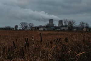 US ' Trump voters in Monroe County, MichiganViews of the DTE Energy Fermi 2 Power Plant in the distance on Tuesday, Jan. 14, 2019 in Monroe County, Mich. Fermi 2 is a nuclear power plant.