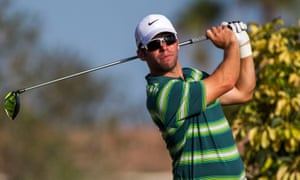 Paul Casey during the final round of the Honda Classic at Palm Beach Gardens in Florida