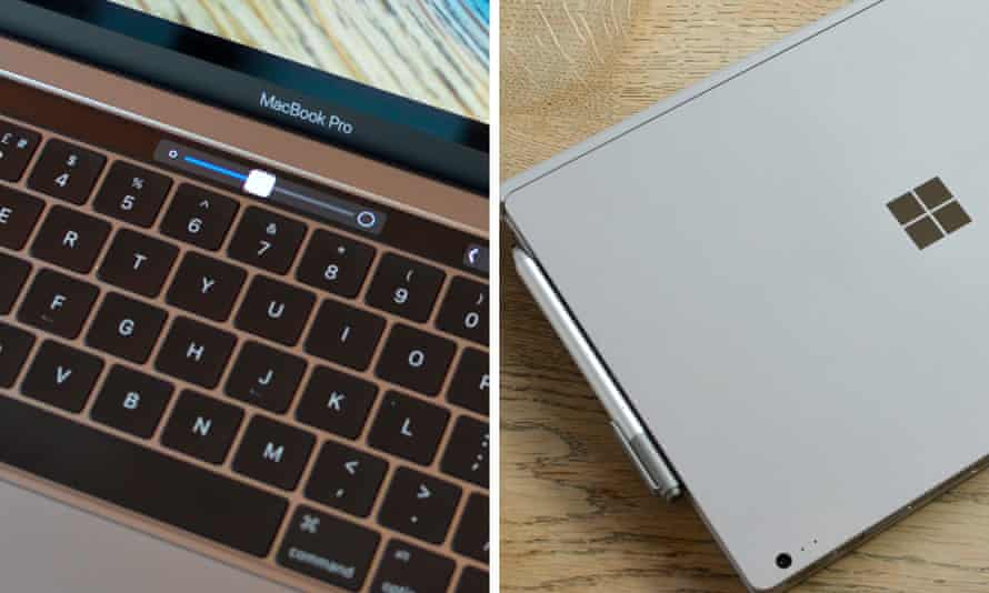 Microsoft Surface v Apple Macbook Pro