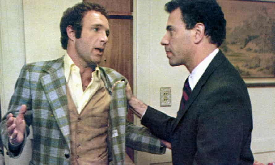 James Caan, left, and Alan Arkin in Freebie and the Bean.