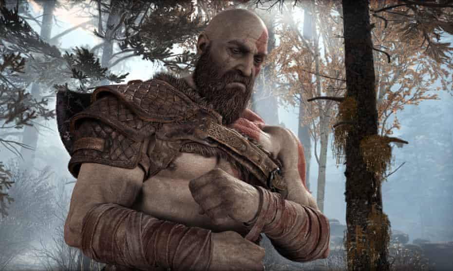 God of War on PS4.