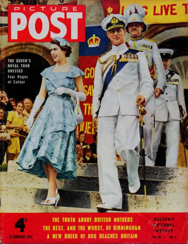 Early days: cover star of Picture Post in 1954.