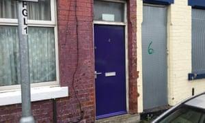 Repainted doors.