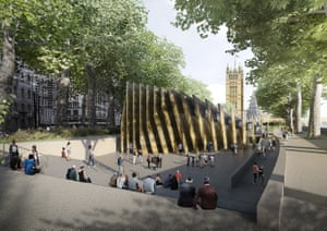 David Adjaye's design for the £50m Holocaust memorial in London's Victoria Tower Gardens