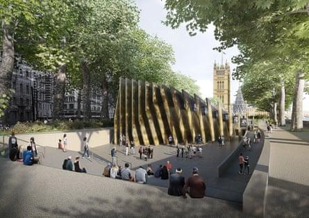 David Adjaye's design for the £50m Holocaust memorial in London's Victoria Tower Gardens