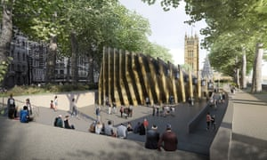 The winning design for the UK Holocaust memorial