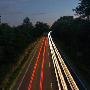 The quiet roads of NorfolkPhotograph: colinpage/GuardianWitness