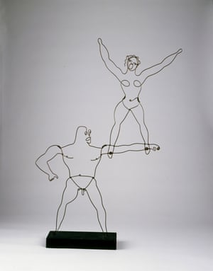 Two Acrobats, 1929 by Alexander Calder.