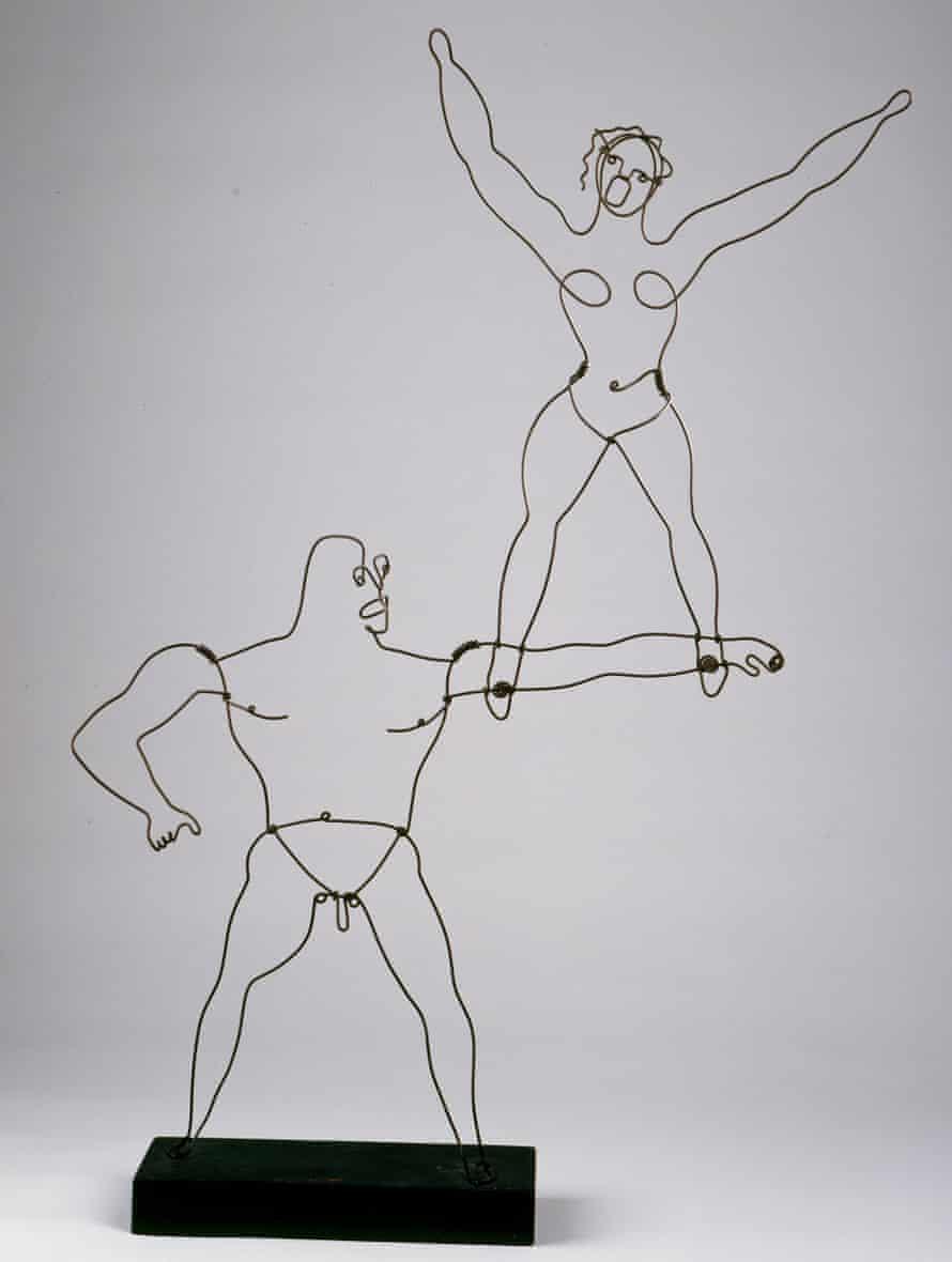 Two Acrobats, 1929.