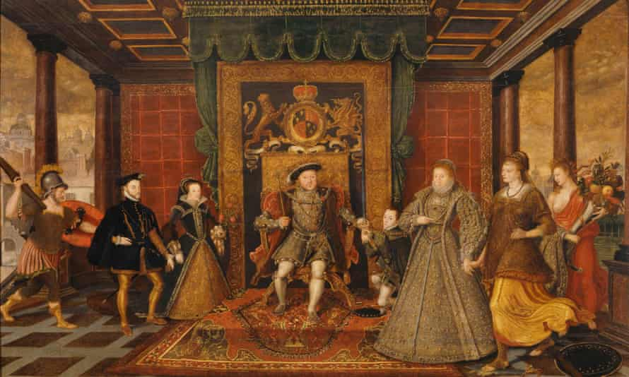 The Family of Henry Viii: an Allegory of the Tudor Succession, by Lucas de Heere, 1572.