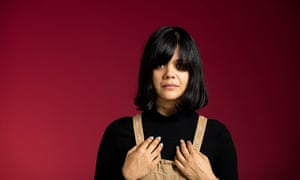 Natasha Khan photographed in London last week by David Levene for the Observer New Review.