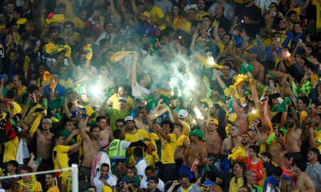'We are the kings': Brazil fans celebrate winning Copa América without Neymar – video