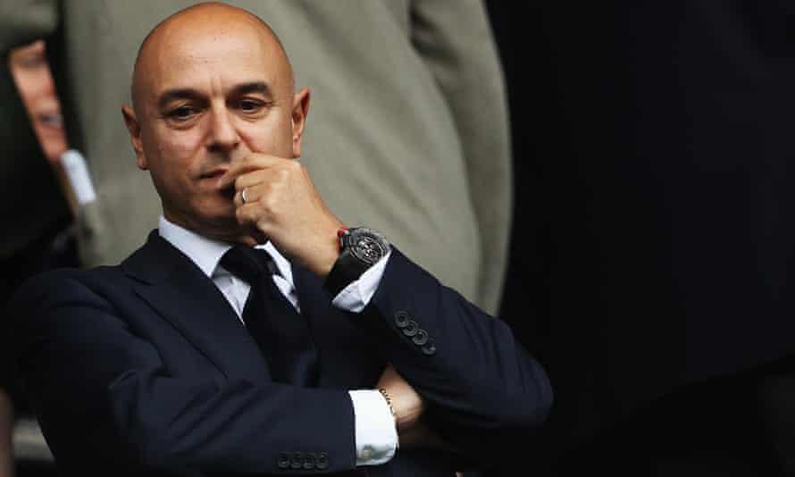 Daniel Levy, the Tottenham Hotspur chairman.